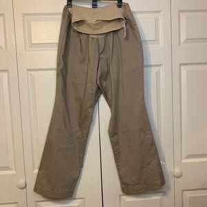 Motherhood Khaki boot cut maternity pants !